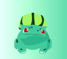 Bulbasaur's First Appearance by abzde