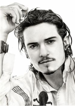 Orlando Bloom by akaLilith