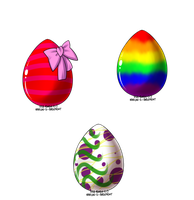 Dragon Eggs Set 1. ALL SOLD by InuyashaRules6596