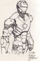 Iron Man by jacksony22