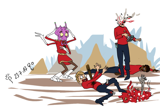 Rickdiculous July 22 - redshirts ftw by doodler14