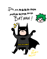BATMAN will eat your face by LainaofthesandLOL