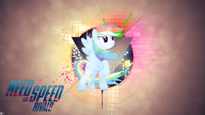 Need For Speed Rivals Rainbow Dash by Vaux111