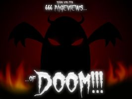 666 Pageviews of DOOM by Bosshamster
