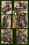 Steamfused Tempwork Moderator Bracer by StarboundEpiphany