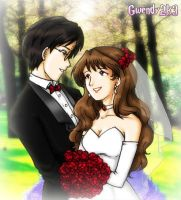 Harry and Hermione's Wedding by gwendy85
