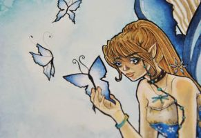 Blue Faerie Preview by SashaFitzgerald