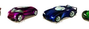 Concept Cars by TedKimArt