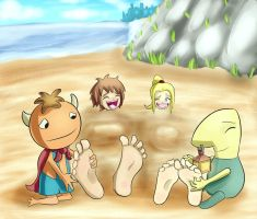 Ni No Kuni: Wrath of the beach tickles by Digi-runner