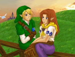 days in hyrule by SasamiInu