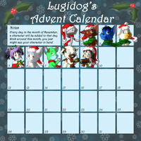 Advent Calendar 2010 by Lugidog