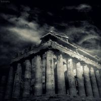 Athena's Temple II by lostknightkg