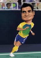 Falcao Futsal by manohead