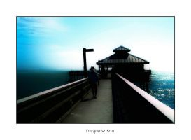 Turquoise Sun by aquapell