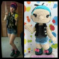 Custom Crochet - Maggie by CraftyTibbles