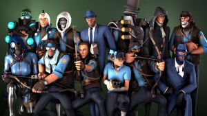The BLU Team by hunterscout