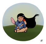 Lilo and Stitch by NatashaFenik