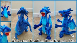 Universal Studios Blue Dragon by Vesperwolfy87