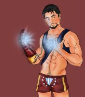 Tony Stark by Wolfenizex