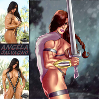 Beautiful Barbarian Siena Angela Salvagno By Ulics by zenx007