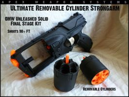 Removable Cylinder Ultimate Strongarm by MarcWF