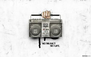 No Music? No Life. - Wallpaper 2011 by denkats