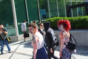 Boston Zombie March 2014 - Zombie March 07 by VideoGameStupid