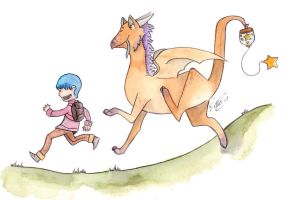 Hop skip and a jump by jellysocks