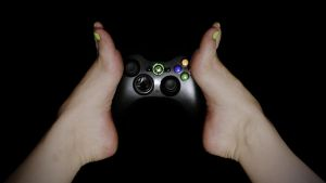 Gamer Toes - XBOX edition by MyBarefootMuse