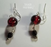 red and black by black--monkey
