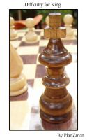 king in difficult position by planzman