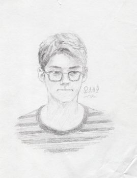 Sehun sketch by TheArtisticPony
