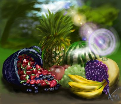 fruits  by adolphlip