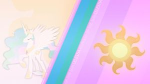 Princess Celestia CM Wallpaper by Bardiel83