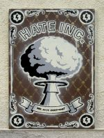 Hate INC. stencil by Gobbr