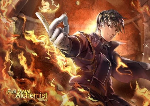FMA :: Roy Mustang by NunuJS
