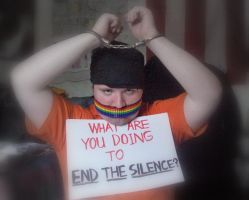 End the Silence:ADF-Fuensalida by No-More-Ignorance