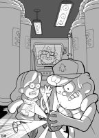Gravity Falls by sirandal