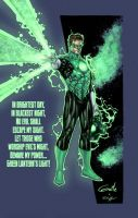 Green Lantern by SpiderGuile by StephenSchaffer