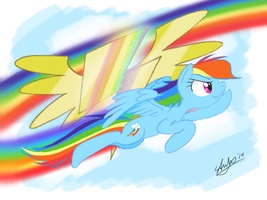 Rainbow Rises by stuhp
