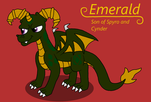 The Legend of Spyro~ Emerald by Pandalove93
