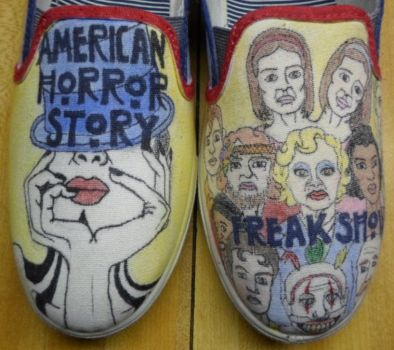AHS Freak Show Shoes by TheCandleMaker