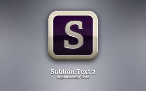 SublimeText 2 Replacement Icon by 1A-Design