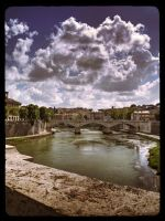 Roma Tevere by Michelangelo84