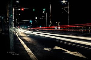 Night scene by Piroshki-Photography