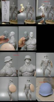 CAPTAIN AMERICA WIP-2 by m5m5c5