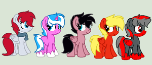 New Looks for Old Oc's by XxDipperKittyXx