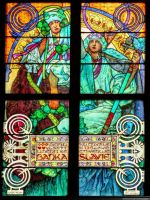 Muchas Stained Glass in Dom by pingallery
