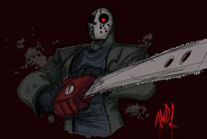 No Friday the 13th is safe... by AndrewDickman