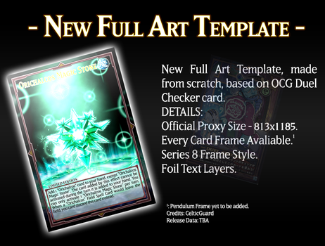 Full Art Template Teaser by grezar